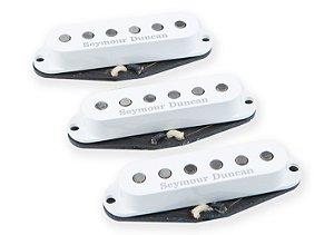 Captadores (Trio) Guitarra APS-2 Alnico II Pro Flat Strat  Set, Branco