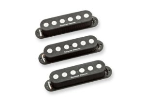 Captadores (Trio) Guitarra SSL-4 Quarter-Pound Strat Calibrated  Preto