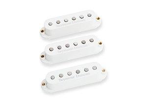 Captadores(Trio) Guitarra STK-S4 Classic Stack Plus Strat  Branco