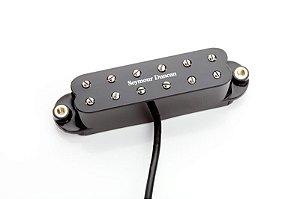 Captador Guitarra SJBJ-1n JB Jr. Strato Hum-Cancell  Braço Preto