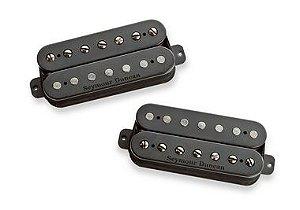 Captadores (Par) Guitarra 6 Cordas Pegasus & Sentient Set  Preto