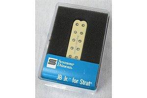 Captador Guitarra SJBJ-1b JB Jr. Strat,  4 Condutores, Ponte, Creme