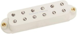 Captador Guitarra SL59-1b Little 59, 4 Condut, Ponte, Parch