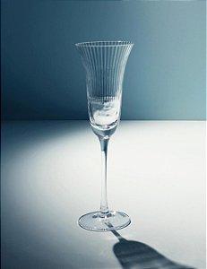 Taça de champagne Ribbed