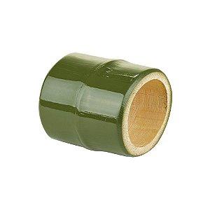 Porta Guardanapo bambu verde musgo