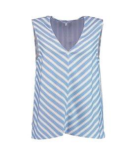 Blusa Le Lis Blanc - Azul com listras