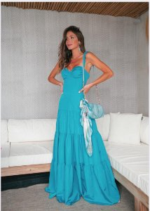 Vestido Anne Fernandes Azul