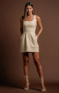 Vestido Liane Machado