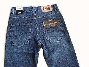 Calça Lee Chicago Jeans Masculina Tradicional Elastano 1106