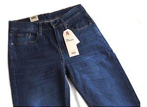 Calça Levis Jeans Masculina Tradicional Elastano Cintura Baixa 514