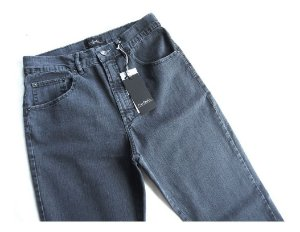 Calça Jeans Masculina Pierre Cardin Tradicional Elastano Cinza 880/886