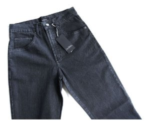 Calça Jeans Pierre Cardin Masculina Preta Tradicional 056/70