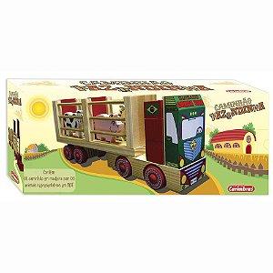 Caminhão de Madeira da Fazendinha Carimbrás +2 Anos