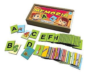 Jogo Da Memoria Letras Educativo Pedagogico Simque