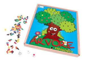 Arvore Pedagogica Jogo Educativo Cores Estimulacao Escolar Simque