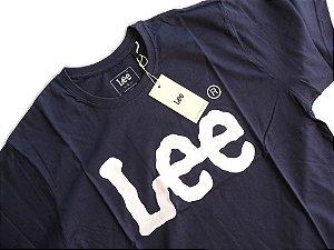 Camiseta Lee Masculina Manga Curta Gola Redonda