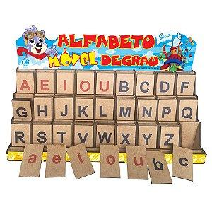 Alfabeto Movel Degrau Letra Bastao Educativo Alfabetizacao Simque 428