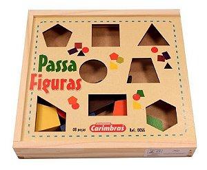 Passa Figuras De Madeira 18 Meses Pedagogico Carimbras