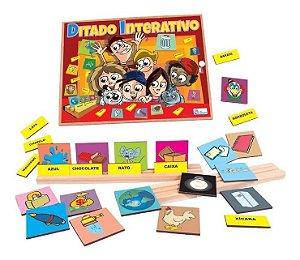 Jogo Educativo Alfabetização Ditado Interativo  Pedagogico