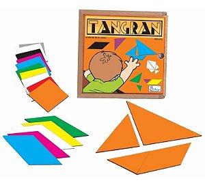 Tangram De Madeira Pedagogico Jogo Educativo Pedagogico Simque