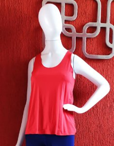 Camiseta Dryfit - vermelha