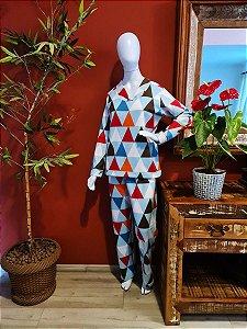 Pijama soft - triângulo