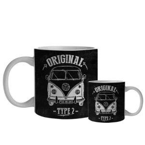 Caneca Porcelana VW Kombi 300 Ml