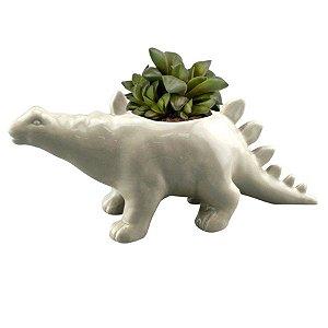 Cachepot Cerâmica Animais Dinossauro Stegosaurus