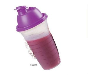 QUICK SHAKE 500ML TAMPA ROXA