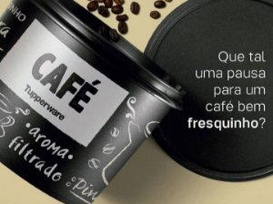 TUPPERWARE CAIXA CAFÉ PB 700