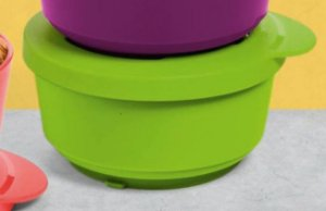 TUPPERWARE TIGELA ILÚMINA 200ML LIMÃO