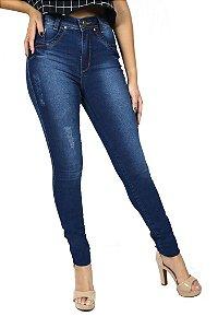 Calça Hot Pants Azul Escura Emane Modas