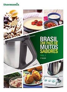 LIVRO BRASIL UM PAIS DE MUITOS SABORES VOL1