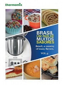 LIVRO BRASIL UM PAIS DE MUITOS SABORES VOL3