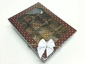 Caixa com 12 Divisões para Chocolates e Doces