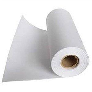 Bobina de Papel Branco Couchê 60 cm