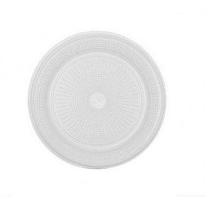 Prato Descartável Branco 15 cm c/ 10 un