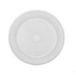 Prato Descartável Branco 18 cm c/ 10 un