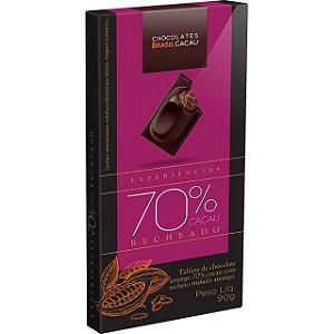 TABLETE RECHEADO 70% CACAU