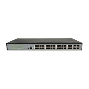 Switch 24 Portas 10/100/1000 + 4 Sfp Combo Sg 2404 Mr L2+
