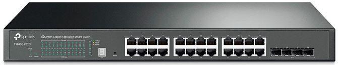 Switch 24 Portas 10/100/1000 E 4 Sfp+ 10ge T1700g-28tq