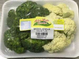 Brócolis Ninja com Couve-flor - 300 Gramas
