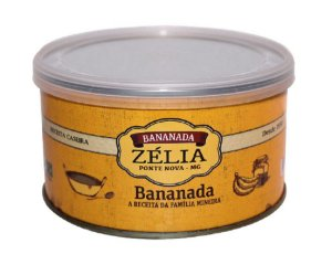 Bananada caseira zélia - 400g