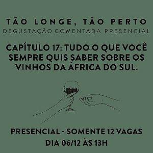Degustações presencial 06/12 - África do Sul