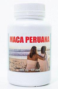 Maca Peruana 500mg C/60 Capsulas FLORA VIVA
