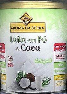 LEITE EM PÓ DE COCO INTEGRAL 250G - AROMA DA SERRA