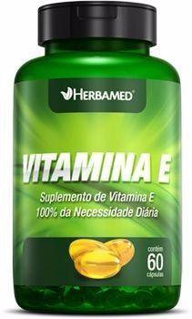 HERBAMED VITAMINA E - 60 CAPS