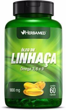 HERBAMED ÓLEO DE LINHAÇA - 60 CAPS