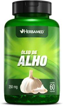 HERBAMED ÓLEO DE ALHO - 60 CAPS