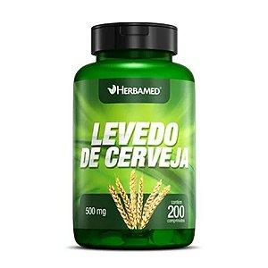 HERBAMED LEVEDO DE CERVEJA - 200 COMPRIMIDOS/500MG